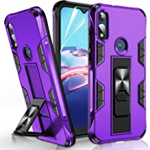 Moto E Case, Moto E 2020 Phone Case with HD Screen Protector, Gritup [Military Grade] Shockproof...