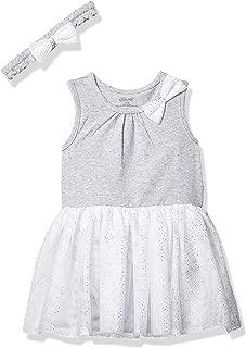 Little Me Baby Girl's Tutu Popover and Headband Dress