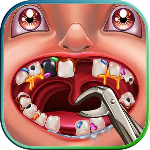 Verrückter Zahnarzt Lustiges Spiel : Patienten in einer Klinik von einem verrückten Zahnarzt behandeln ! Fun-Spiel für Kinder