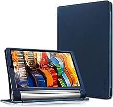 Lenovo Yoga Tab 3 Plus/Lenovo Yoga Tab 3 Pro 10 Case - Infiland Folio Premium PU Leather Stand Cover Fit for Lenovo Yoga Tab 3 Plus 10.1/ Lenovo Yoga Tab 3 Pro 10.1-Inch Tablet, Navy