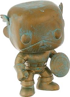 Funko Pop! Marvel: 80th-Captain America (Pt) (Exc), Action Figure - 42218