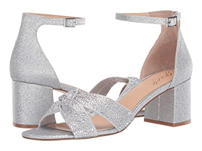 Jewel Badgley Mischka Nicolette (Silver/Iridescent) Women