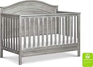 DaVinci Charlie 4-in-1 Convertible Crib in Cottage Grey | Greenguard Gold Certified