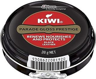 KIWI Polish, Renews & Protects Leather Shoes, Parade Gloss Black, 38 g