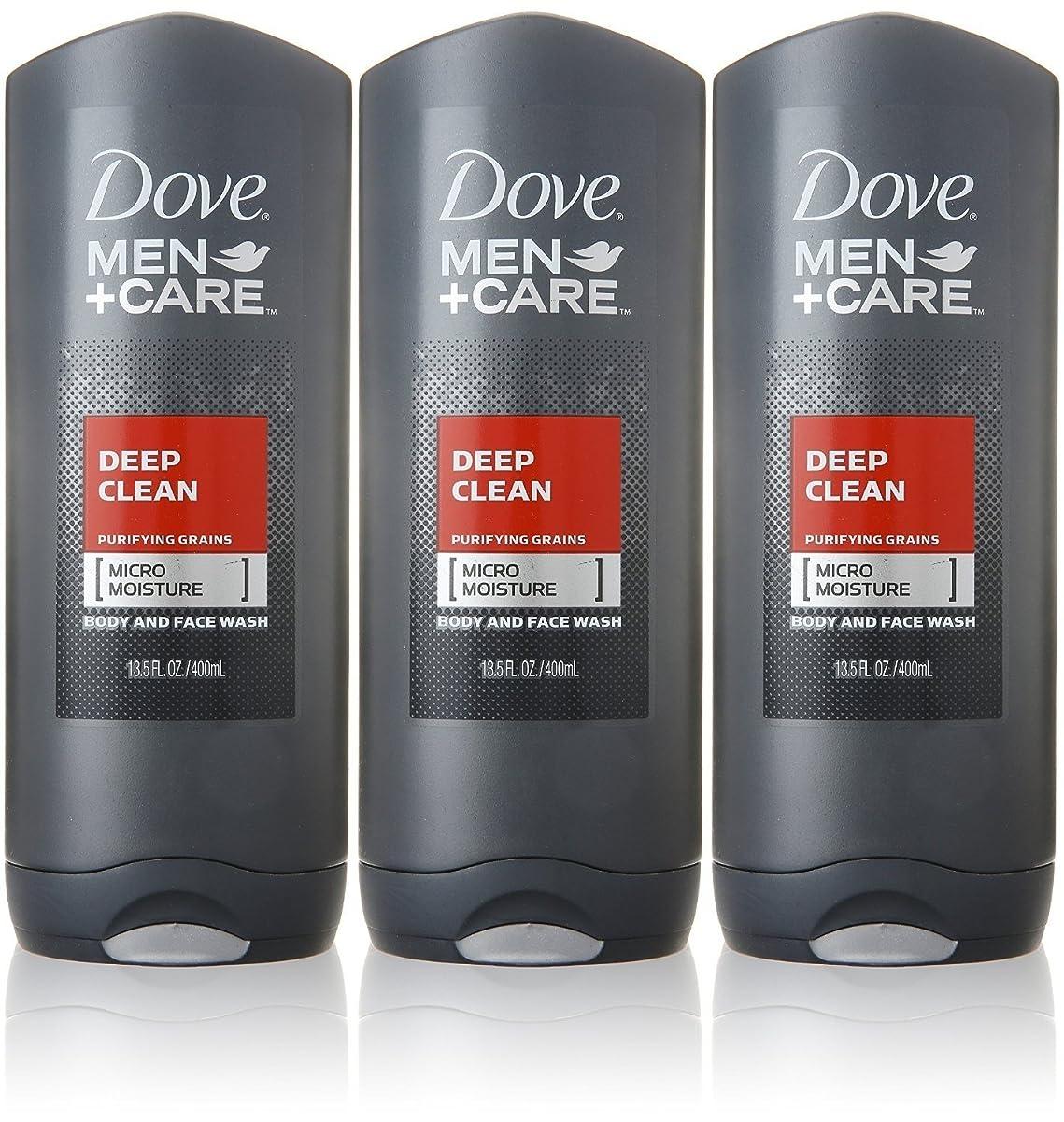 ハーフシソーラス描写Dove Deep Clean Mens Body Wash, 13.5 Ounce -- 3 per case. by Dove