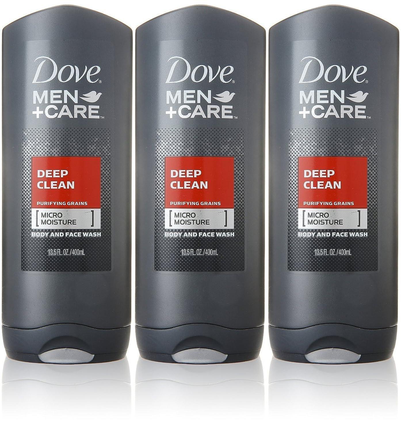 背が高いその後密輸Dove Deep Clean Mens Body Wash, 13.5 Ounce -- 3 per case. by Dove