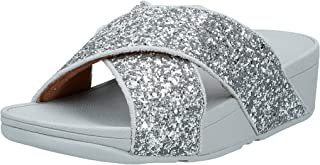 FitFlop Lulu Glitter Slides womens Women Fashion Sandals