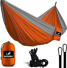 MalloMe Camping Hammock with Ropes - Double & Single Tree...
