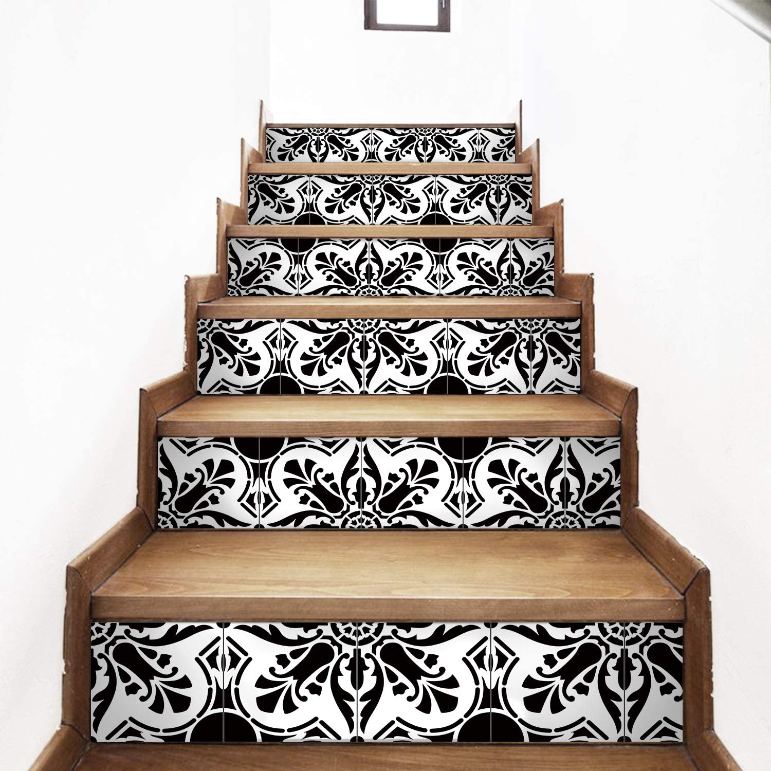 Max 66% OFF AMAZING WALL AmazingWall Black White All stores are sold Sticker Style Arabic Stair
