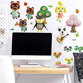 RoomMates Animal Crossing Peel and Stick Wall Decals