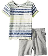 Splendid Littles Reverse Stripe Top Set (Infant)