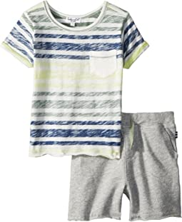 Reverse Stripe Top Set (Infant)