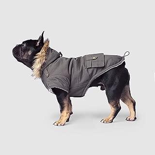 Canada Pooch | Alaskan Army Dog Parka | Sherpa-Lined Hooded Dog Coat