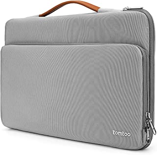tomtoc 360° Protective Laptop Handle Sleeve Fit For 2018 New MacBook Air | 12.3 Inch Surface Pro 6/5/4 | 13