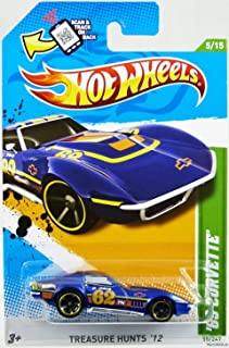 Hot Wheels 2012 Treasure Hunt '69 Corvette Blue Violet #55/247