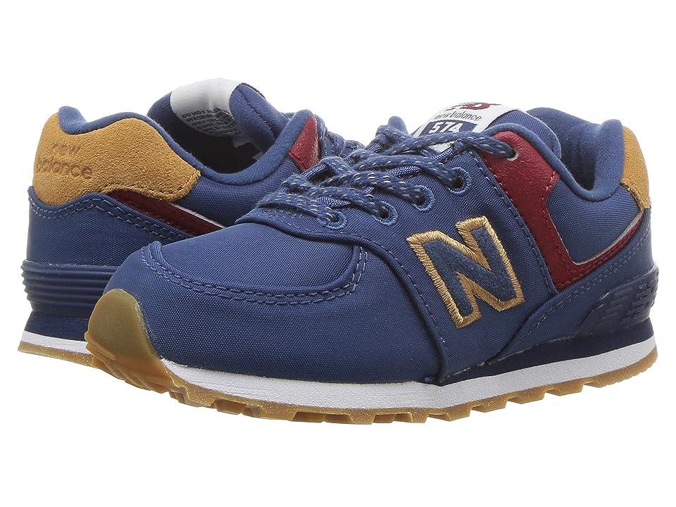 New Balance Kids IC574v1 (Infant/Toddler) (Moroccan Tile/Brown Sugar) Boys Shoes