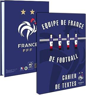 Equipe de FRANCE de football Cahier de Texte FFF - Collection Officielle