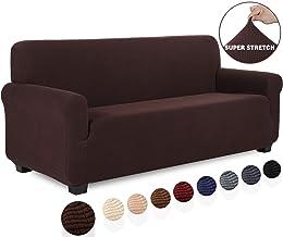 Amazon.es: funda sofa chocolate