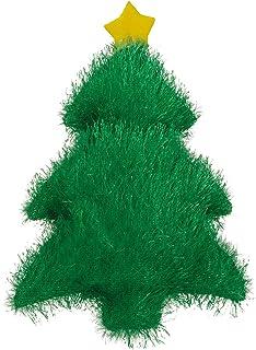 """Zanies Holiday Fuzzles Dog Toys, 7"""" Tree"""