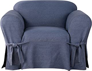 Sure Fit Authentic Denim One Piece Chair Slipcover