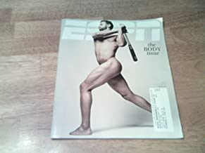 ESPN Magazine, The Body Issue, July 23, 2012-Jose Bautista naked on cover.