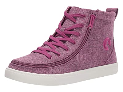 BILLY Footwear SINGLE SHOE Classic Lace High Chambray (Berry) Women