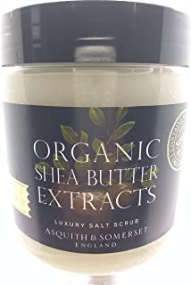 Organic Shea Butter Extracts Salt Scrub 19.4 oz