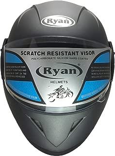 Ryan Atlas Fullface Helmet (Silver Grey)