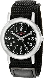 U.S. Polo Assn. Kids' USB75018 Analog Display Analog Quartz Black Watch