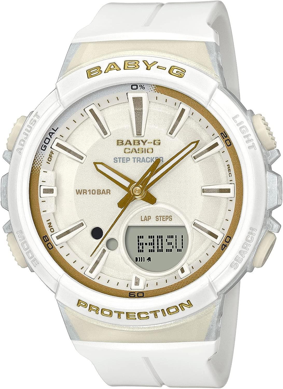 [カシオ] 腕時計 ベビージー FOR RUNNING STEP TRACKER BGS-100GS-7AJF レディース ホワイト