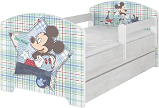 Original Disney's barnsäng med fallskydd och madrass