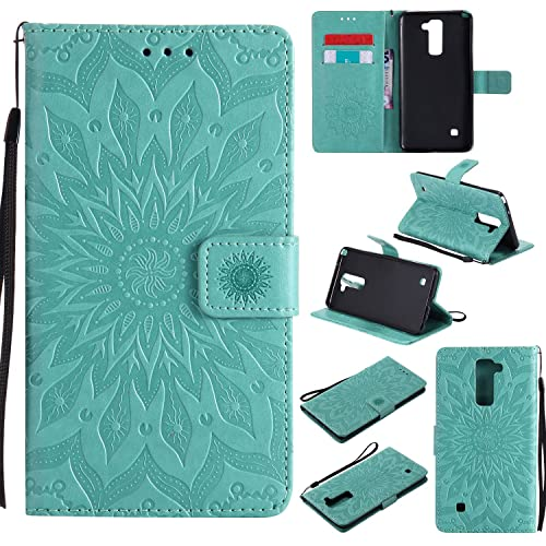 For Lg Stylus 2 K520 New Leather Flip Book Wallet Phone Case Cell Phone Accessories Cell Phones & Accessories Tempered Glass