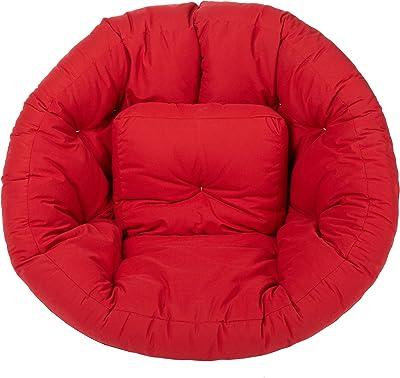 Mozaic Wrap Chair Futon, Red