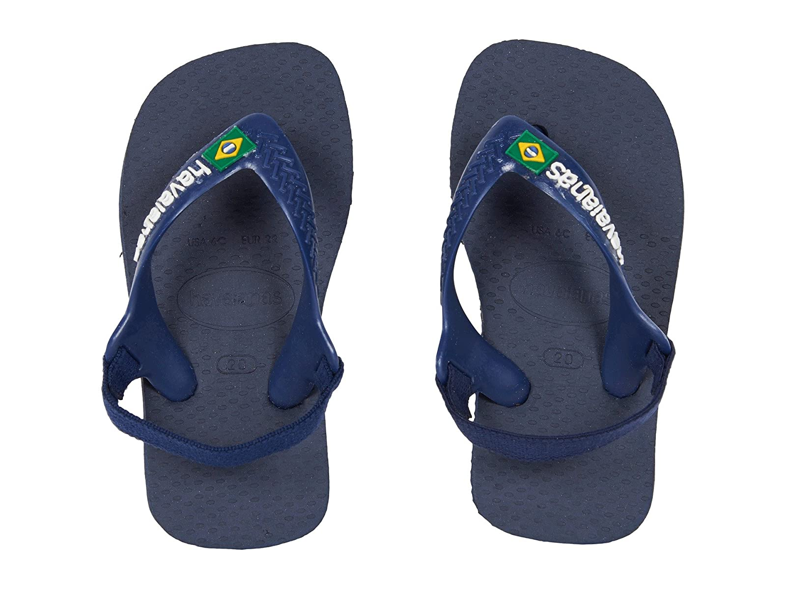 Havaianas Kids Baby Brazil Logo Flip-Flop (Toddler)Atmospheric grades have affordable shoes