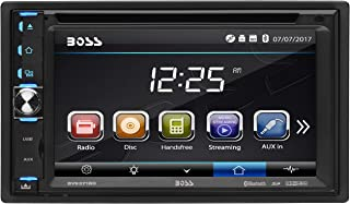 BOSS Audio Systems BV9371BD Car DVD Player – Double Din, Bluetooth Audio and Hands..