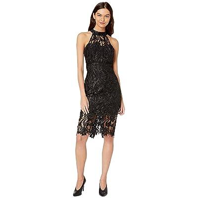 Bardot Isa Lace Dress (Black) Women