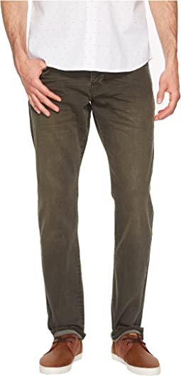 Scotch & Soda Ralston Garment Dye in Military Green