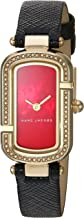 Marc JacobsレディースThe JacobsブラックレザーWatch–mj1496