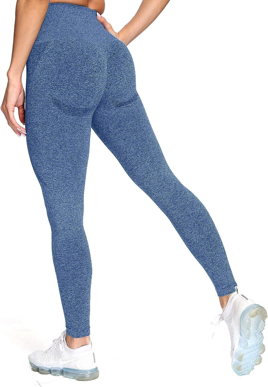 Aoxjox Women's High Waist New life Workout Yo Gym Leggings online shop Vital Seamless