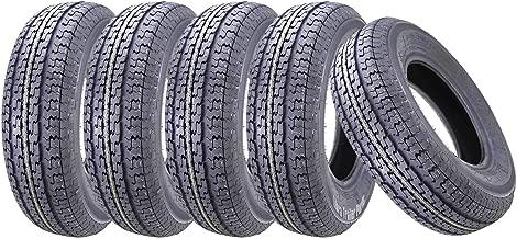 5 New Premium WINDA Trailer Tires ST 205/75R15 /8PR Load Range D Radial w/Scuff Guard