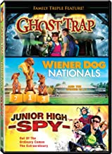 Family Triple Feature: (Ghost Trap / Junior High Spy / Wiener Dog Nationals)