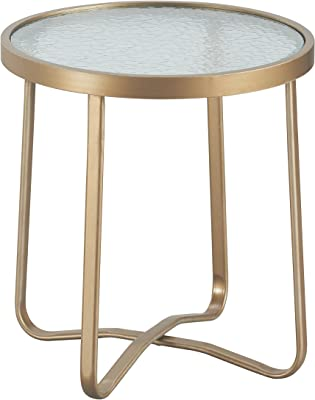 Amazon Com Finnhomy Small Round Side End Table Sofa