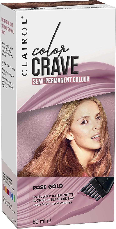 Tinte de pelo semipermanente Colour Crave de Clairol, 60 ml ...