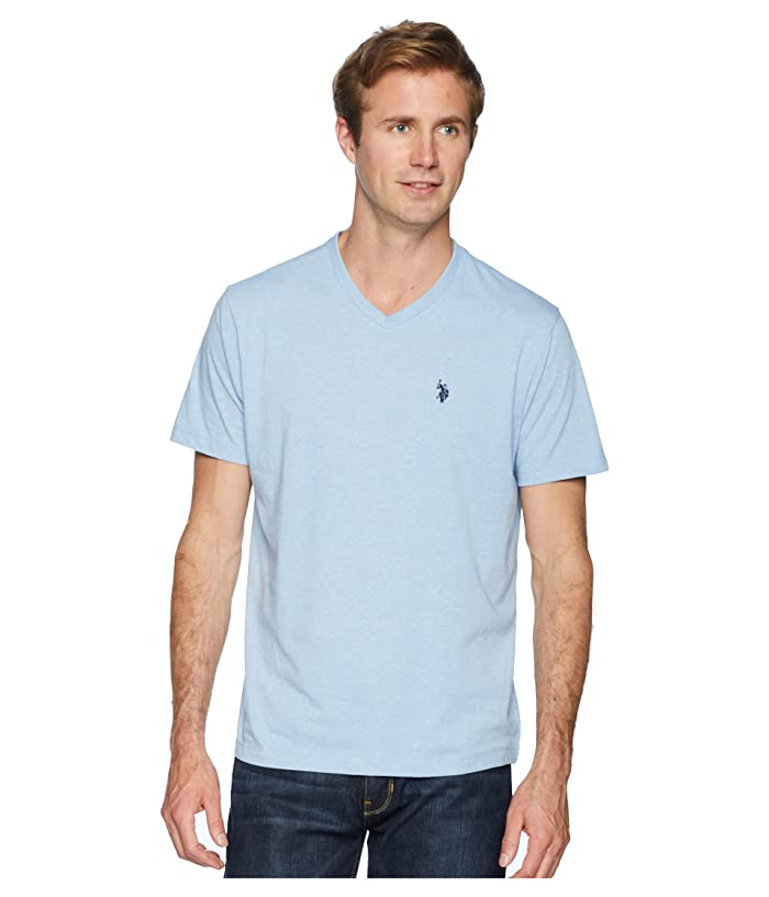 U.S. POLO ASSN. Short Sleeve Solid V-Neck T-Shirt