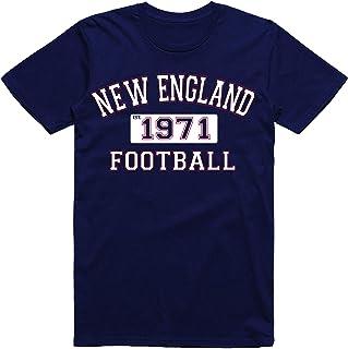 Classic New England Football Est. 1971 Old School Arch Vintage Style Classic Dri-Power T-Shirt