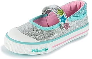 Weestep Toddler Little Kid Glitter Mary Jane Sneaker