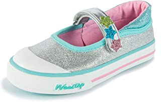 Weestep Toddler Little Kid Glitter Mary Jane Sneaker