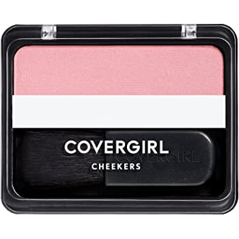 COVERGIRL Cheekers Blendable Powder Blush Natural Rose, .12 oz (packaging may vary), 1 Count