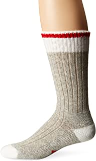 Men's Hudson Bay Midweight Classic Fashion and Function Crew Sock