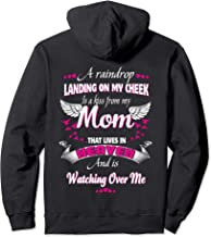 Memory Of Parents In Heaven Gift For Daughter Son Loss Mom Pullover Hoodie